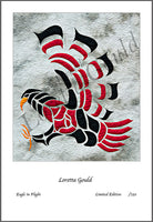68 - Quilt Print -Eagle in Flight