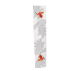White BG with 2 hummingbirds Scarf
