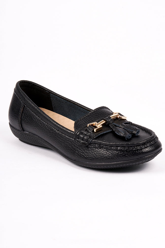 Victoria Black Dr Lightfoot Shoe 4x8
