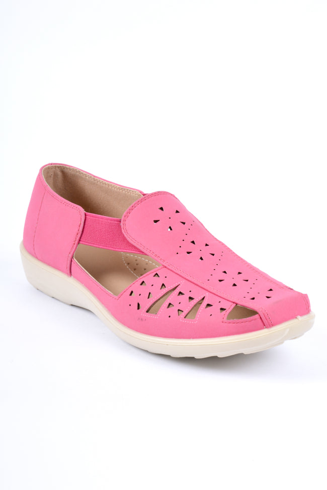 Emily Pink Dr Lightfoot Shoe