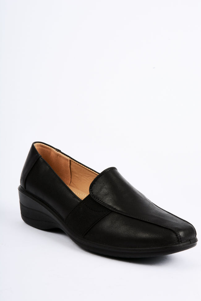 Victoria Black Dr Lightfoot Shoe 3x8