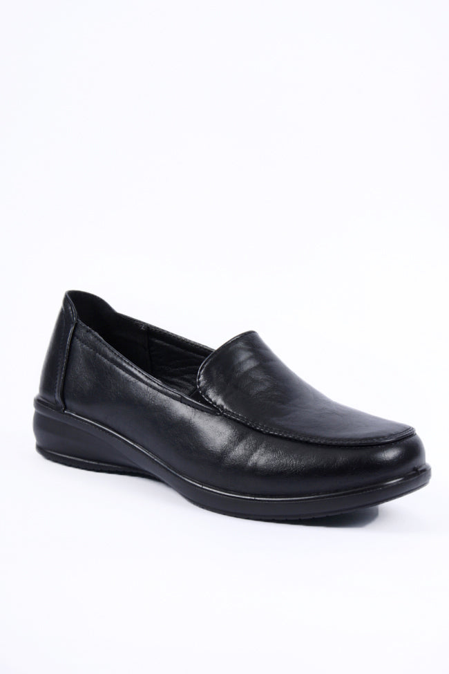 Charlotte Black Dr Lightfoot Shoe