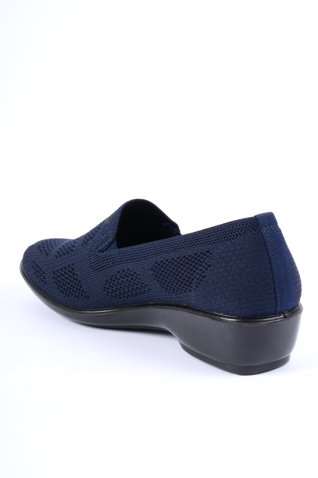Michelle Blue Dr Lightfoot Leisure Shoe 3x8
