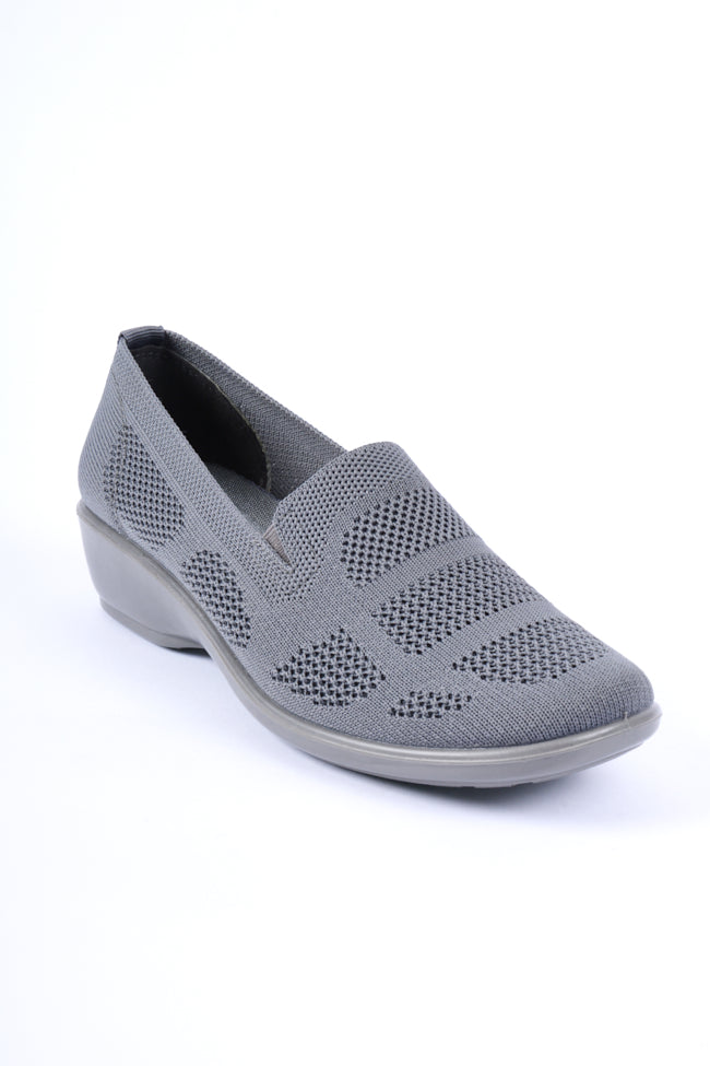 Michelle Grey Dr Lightfoot Leisure Shoe 3x8