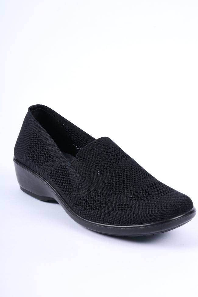 Michelle Black Dr Lightfoot Leisure Shoe 4x8