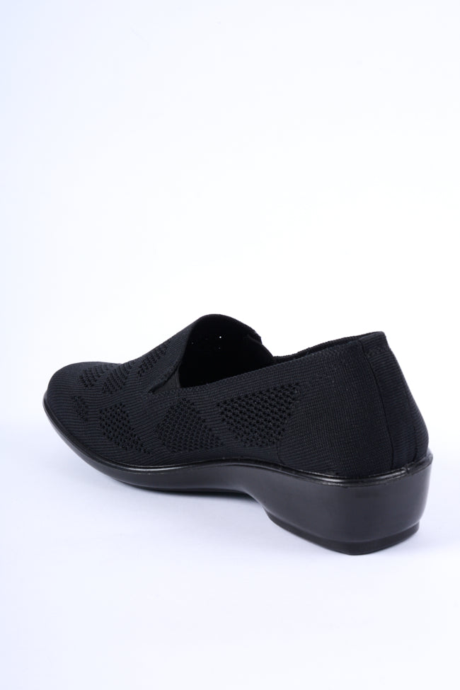 Michelle Black Dr Lightfoot Leisure Shoe 3x8
