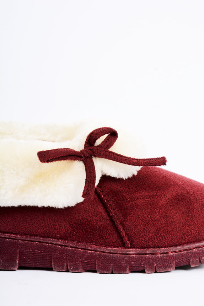 Kira Slipper Red 3X8 D