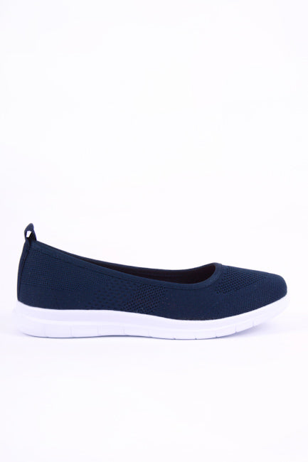 Maria Slip On Navy