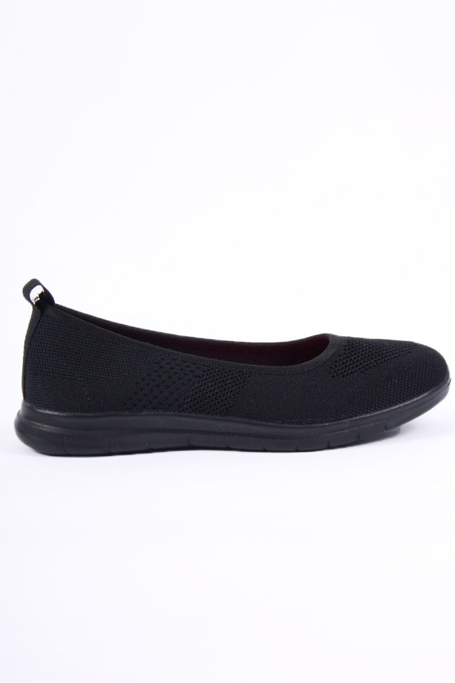 Maria Slip On Black