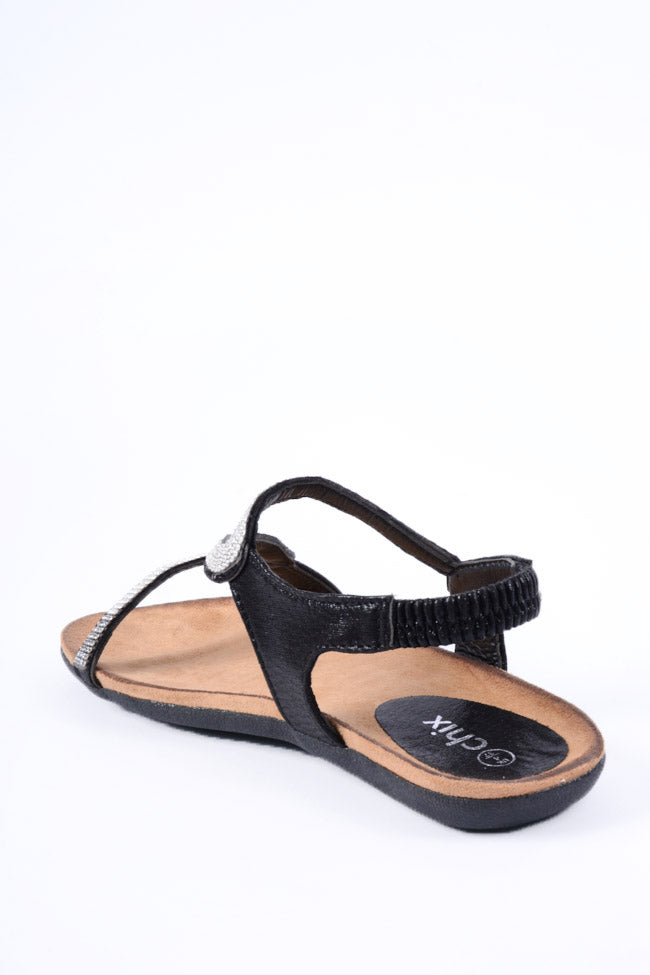 Belle Black Sandal