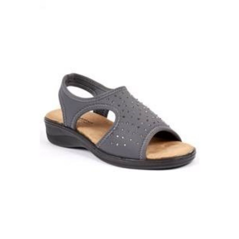 Jenny Pewter Dr Lightfoot Sandal