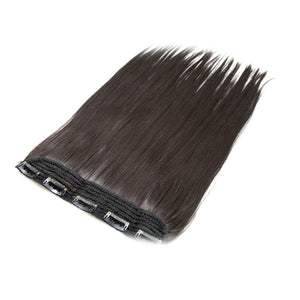 "2# Clip In Hair Extensions Themal Fibre 24"" 100g Straight - The Capital Dolls"