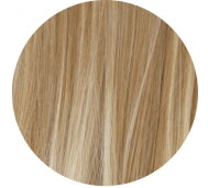 27t613# Blonde Dipdye Premium Clip In Hairdo / Natural Wave - The Capital Dolls