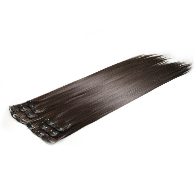 2# Deluxe Clip In Hair Extensions 24