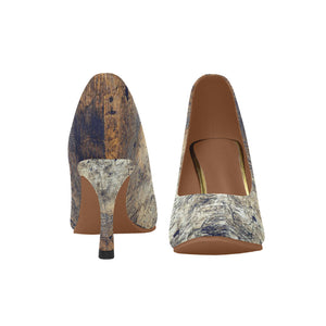 """Shades of Autumn"" Women's High Heels"