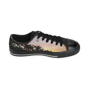 Sunset Art Canvas Shoes / Large Size - The Capital Dolls