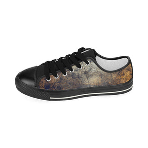 """Shades of Autumn"" Women's Classic Canvas Shoes"