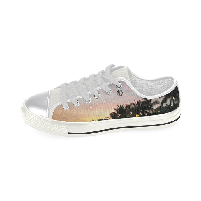 Sunset Art Classic Canvas Shoes - The Capital Dolls