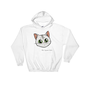 Milli, Hooded Sweatshirt (S-5XL) Front design - The Capital Dolls