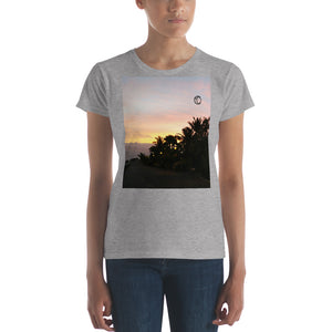 Sunset Art Women's short sleeve t-shirt - The Capital Dolls