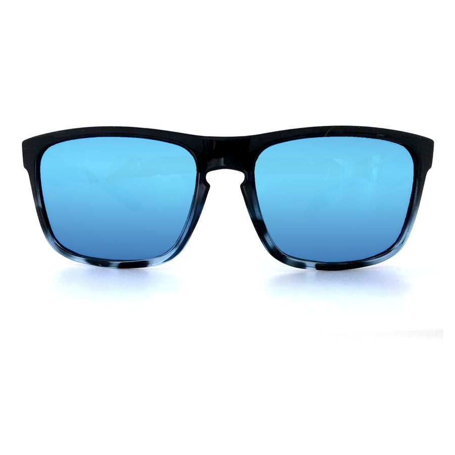 Sunset Blvd - LIMITED EDITION (Ocean Blue Tortoise Shell w/ Blue mirror)