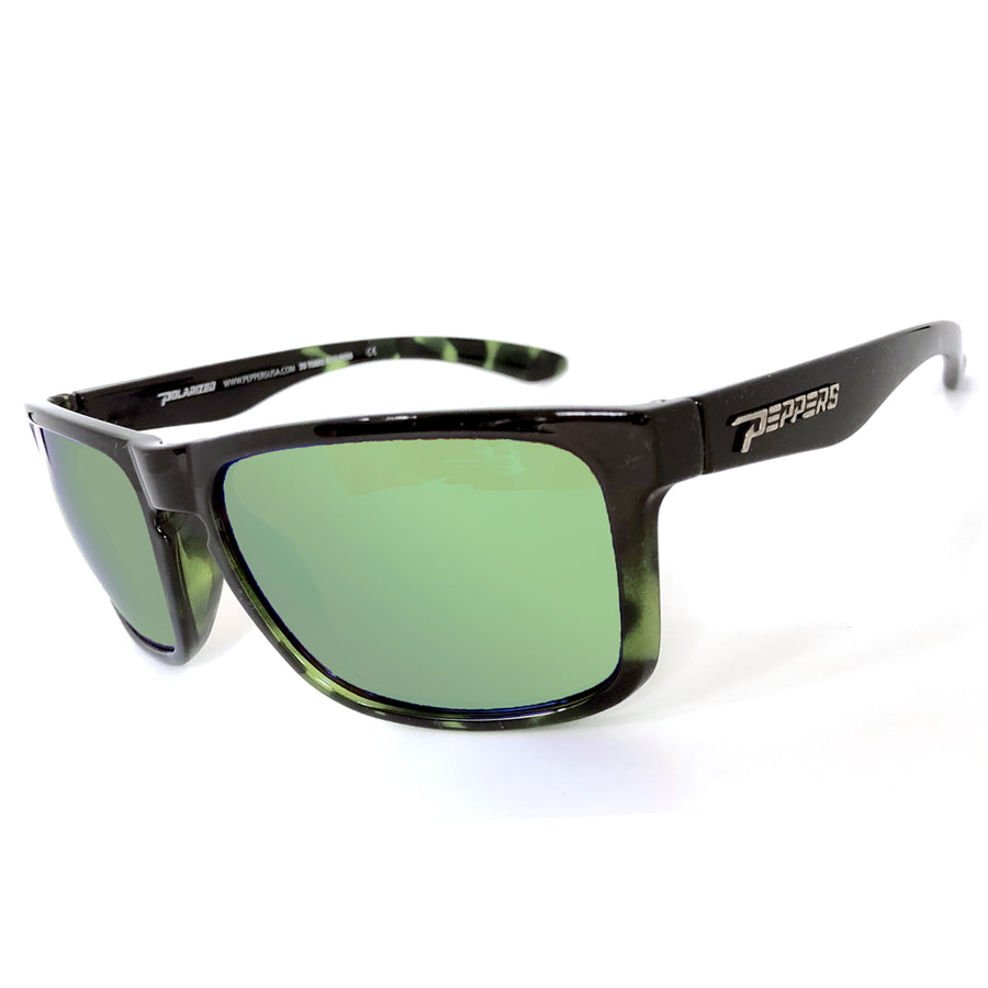 Sunset Blvd -LIMITED EDITION  (Spruce Green Tortoise Shell w/ Green mirror)