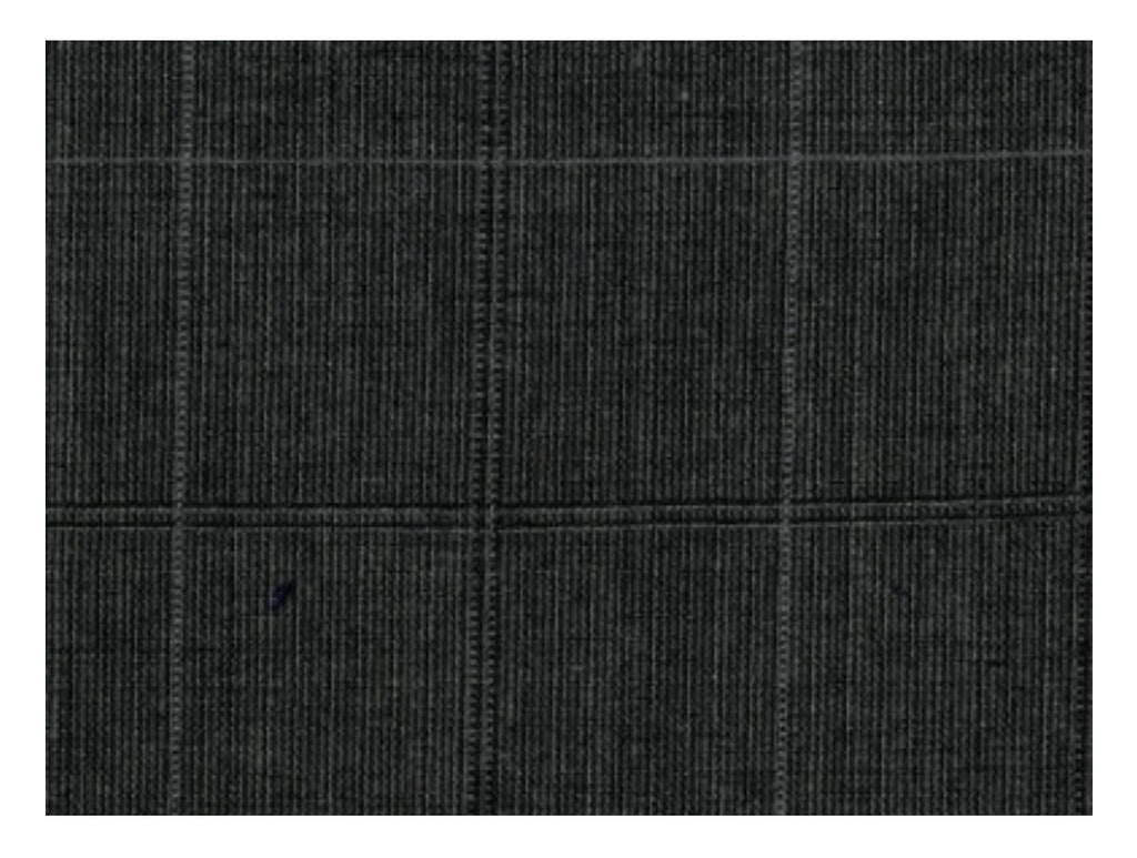 Summer Cashmere | Charcoal Window Pane