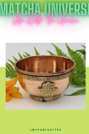 Hamsa Hand (Hand of God) Copper Offering Bowl
