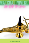 Aladdin Genie Hancrafted Oil and Incense Lamp