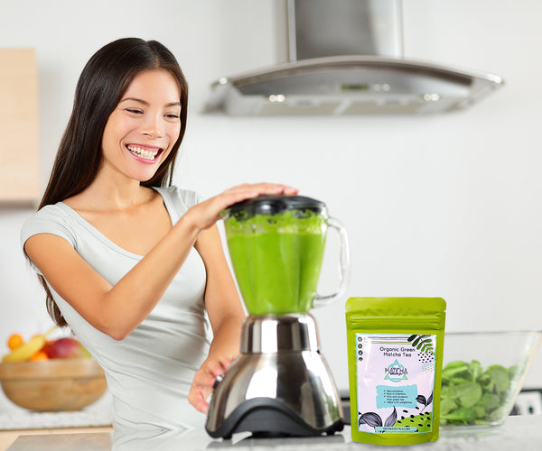 Organic Matcha Green Tea - Social Media Shop