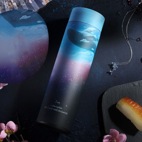 GALAXY Thermos Bottle Stainless Steel Vacuum Flask (More Designs)