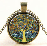 "Vintage Necklace ""Tree of Life"" - Anhänger - SteampunkSpirit"