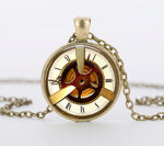 "Steampunk Necklace ""Vintage Watch 2"""