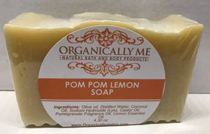 Pom Pom Lemon Soap