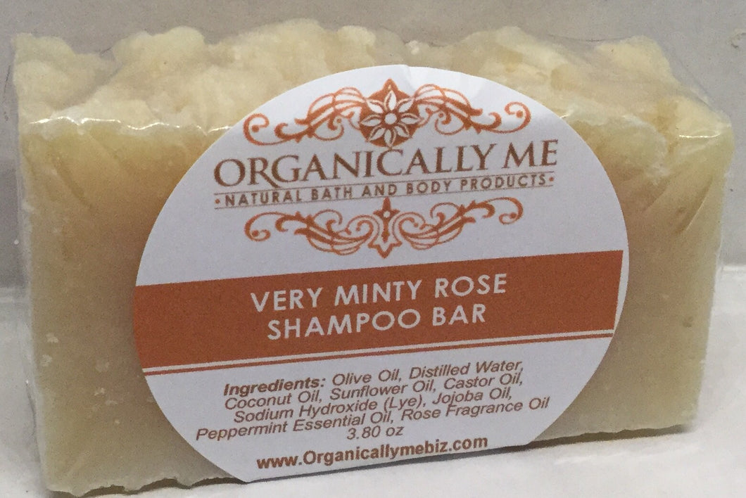 Very Minty Rose Shampoo Bar