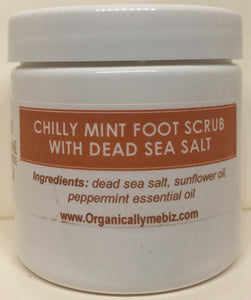 Chilly Minty Foot Scrub