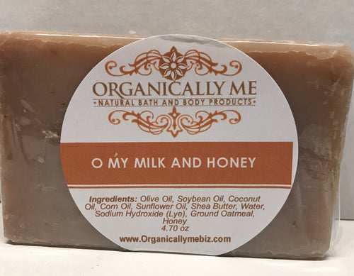 O My Milk and Honey Soap