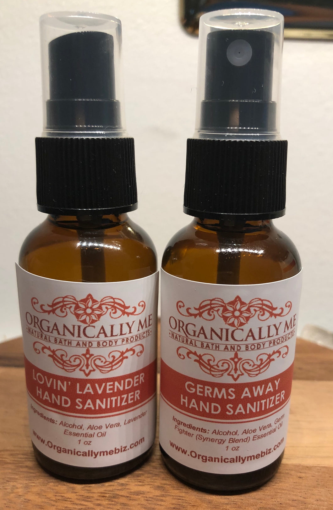Lovin' Lavender and Germ Away Hand Sanitizer