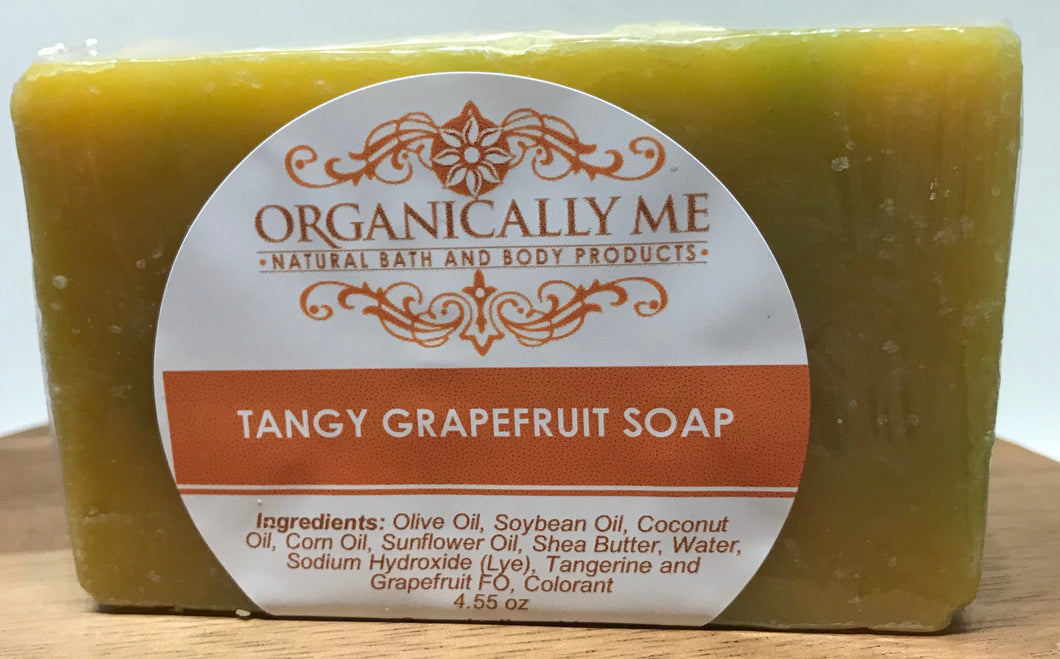 Tangy Grapefruit Soap