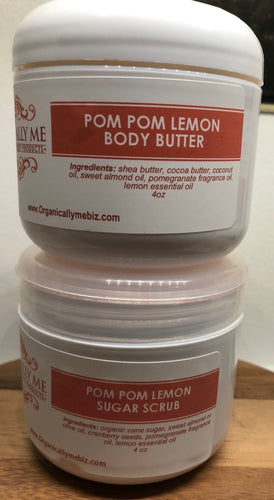 PomPom Lemon Gift Set