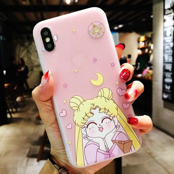Girl Phone Case For Iphone6/6S/6P/7/7P/8/8plus/X/XS/XR/Xs max/11/11pro/11pro max