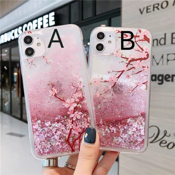Sakura Phone Case For Iphone7/7P/8/8plus/X/XS/XR/Xs max/11/11Pro/11proMax/12/12proMax/12pro