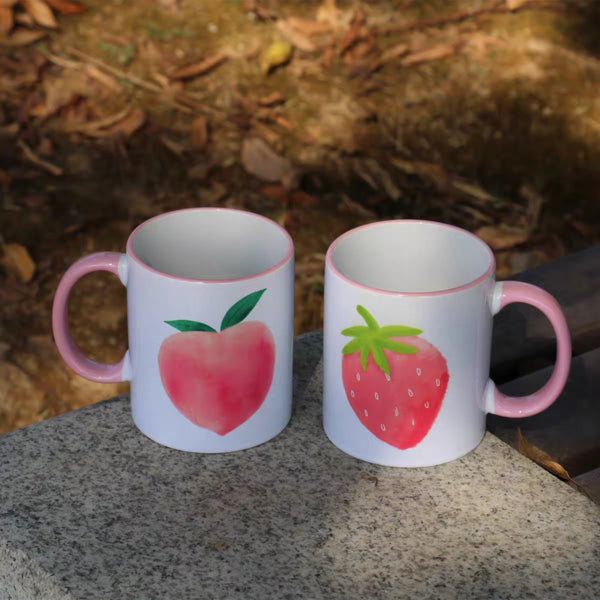 Peach & Strawberry Mug