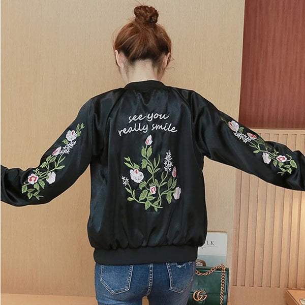 Fashion Embroidered Coat