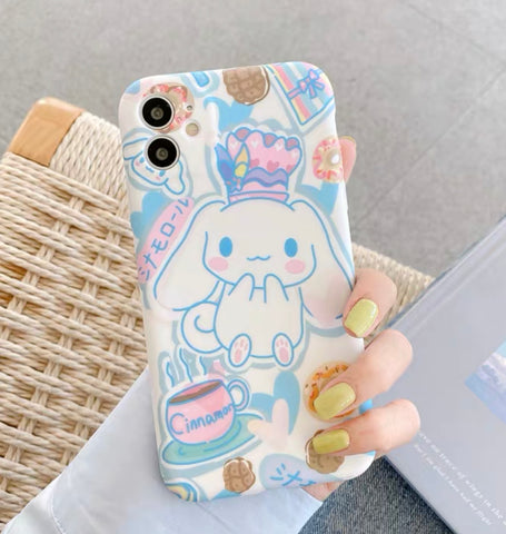 Cinnamoroll Phone Case For Iphone7/7plus/8/8plus/X/XS/XR/XSmax/11/11pro/11proMAX/Se
