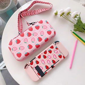 Strawberry Switch Case & Bag