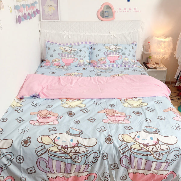 Kawaii Bunny Bedding Set