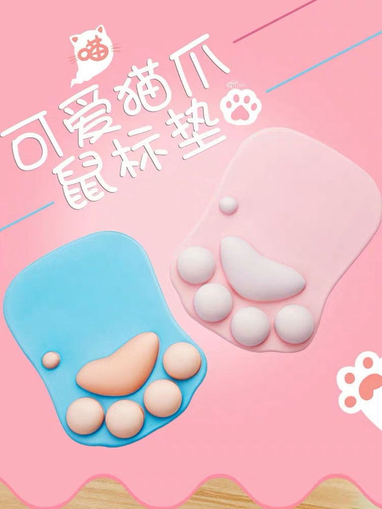 Cute Paw Mouse Mat