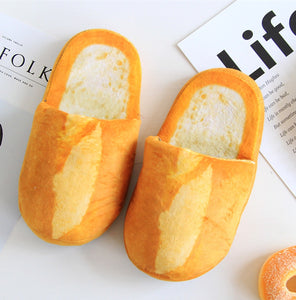 Funny Bread Slippers