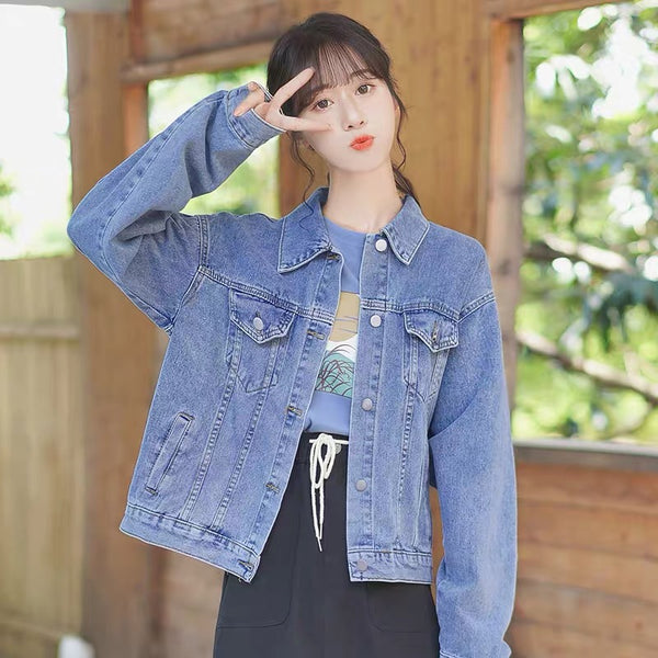 Fashion Jean Coat